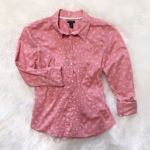 AE- Button down shirt-faded look& pleats-GUC-Sz 10